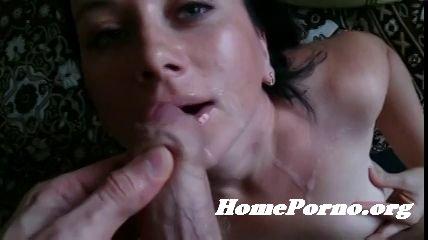 любительский минет сперма в рот нарезка видео