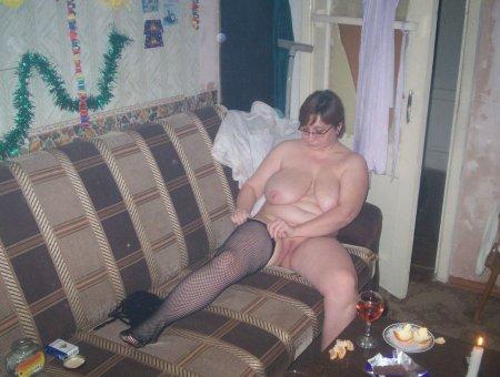 Домашнее откровенное фото русской толстушки